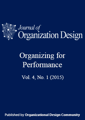 View Vol. 4 No. 1 (2015): Special Issue on Organizing for Performance